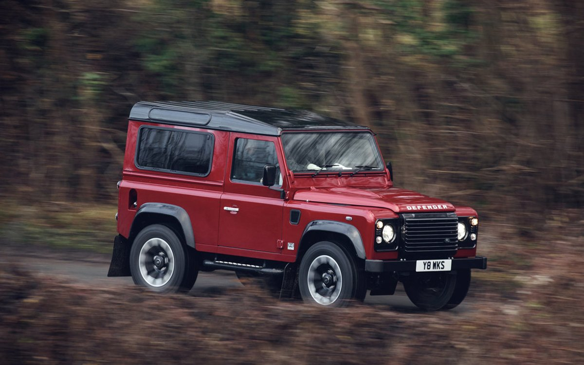Land Rover Is Bringing the Defender Out of Retirement — With a V8