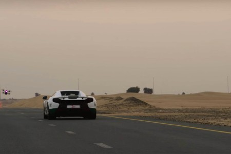 Emirati Prince Stages Drone/Supercar Race Because He Can