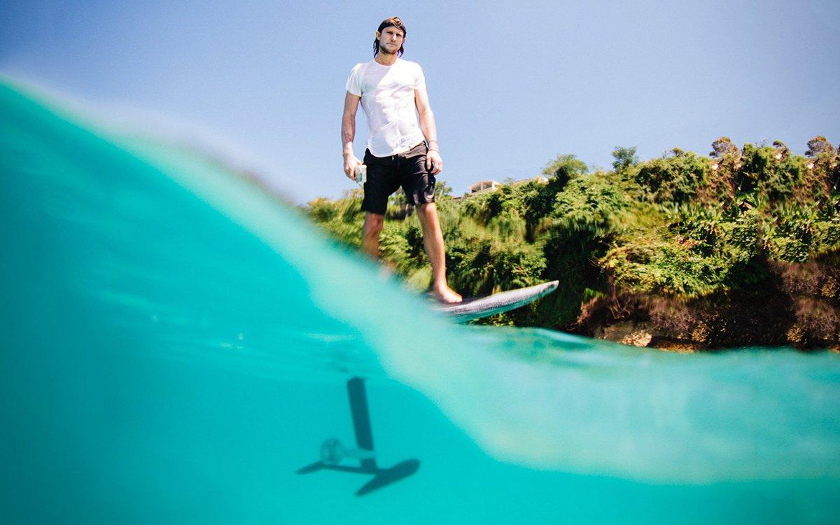 Electric Flying Surfboard? Yep.