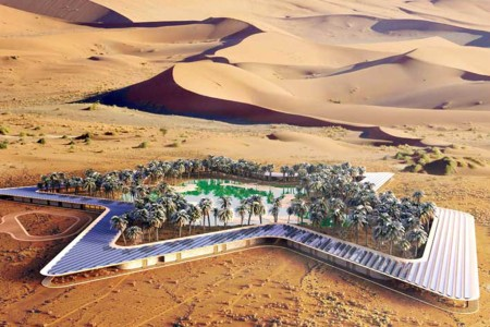 The Greenest Resort on Earth Is Coming to the Desert Because Dubai
