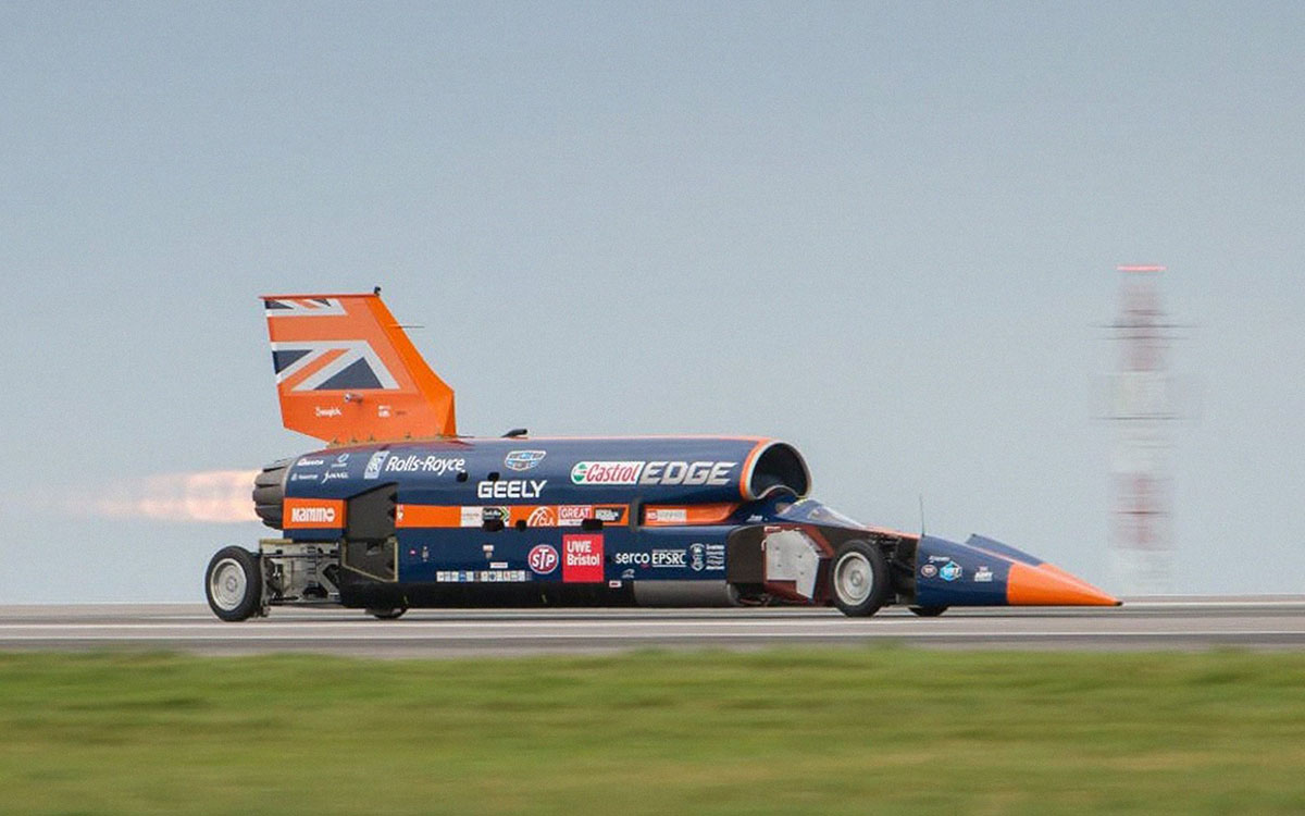 The Supersonic Car That Was Supposed to Break 1,000 MPH Is Up for Sale