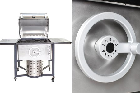 The Ferno Grill Uses a Moving 'Firewheel' to Maximize Heat Control