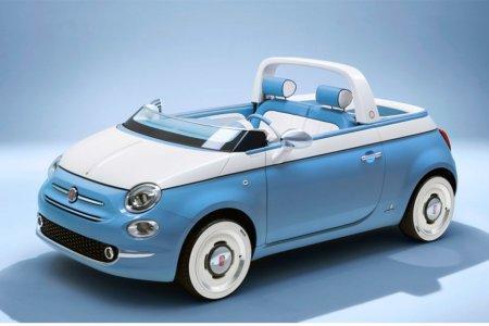Fiat's Throwback Beach Cruiser Has a Shower, Will Travel