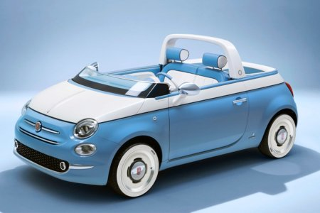 Fiat's Throwback Beach Cruiser Has a Shower, Will Travel