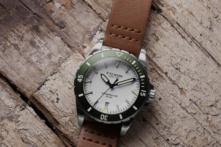 Filson Made a Dive Watch. We'll Take Exactly All of Them.