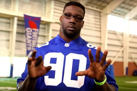 Jason Pierre-Paul Is the Fireworks Safety Ranger America Needs