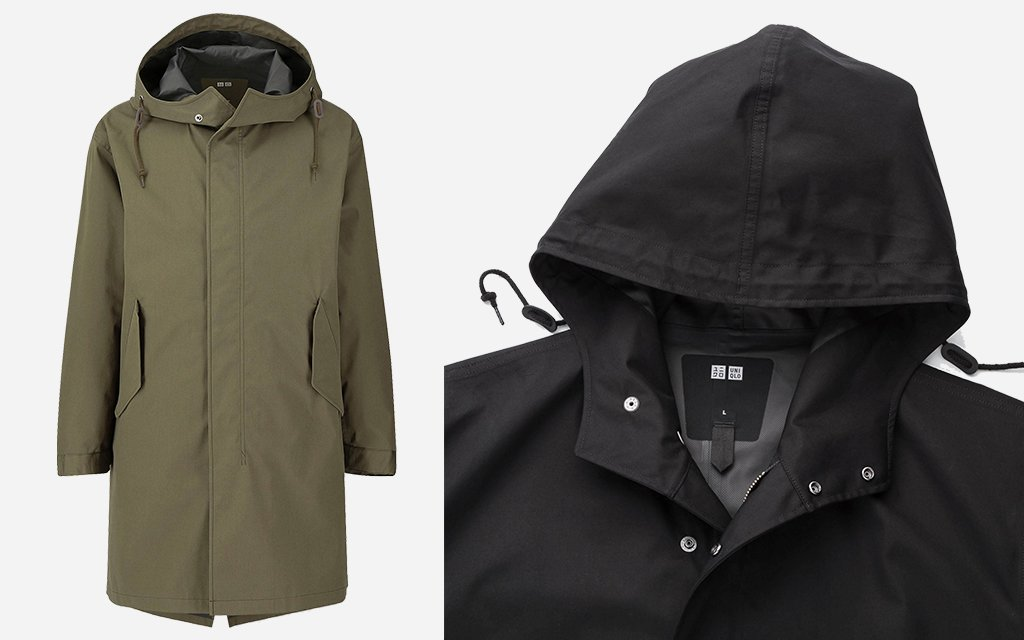 timeless design forefront of the times huge selection of Uniqlo's Blocktech Rain Jackets Are on Sale Under $100 ...