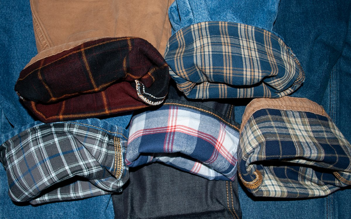 We Tested Five of the Most Popular Flannel Lined Jeans