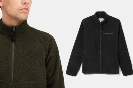 These New Contenders for the Zip-Up Fleece Throne Are 99% Recycled