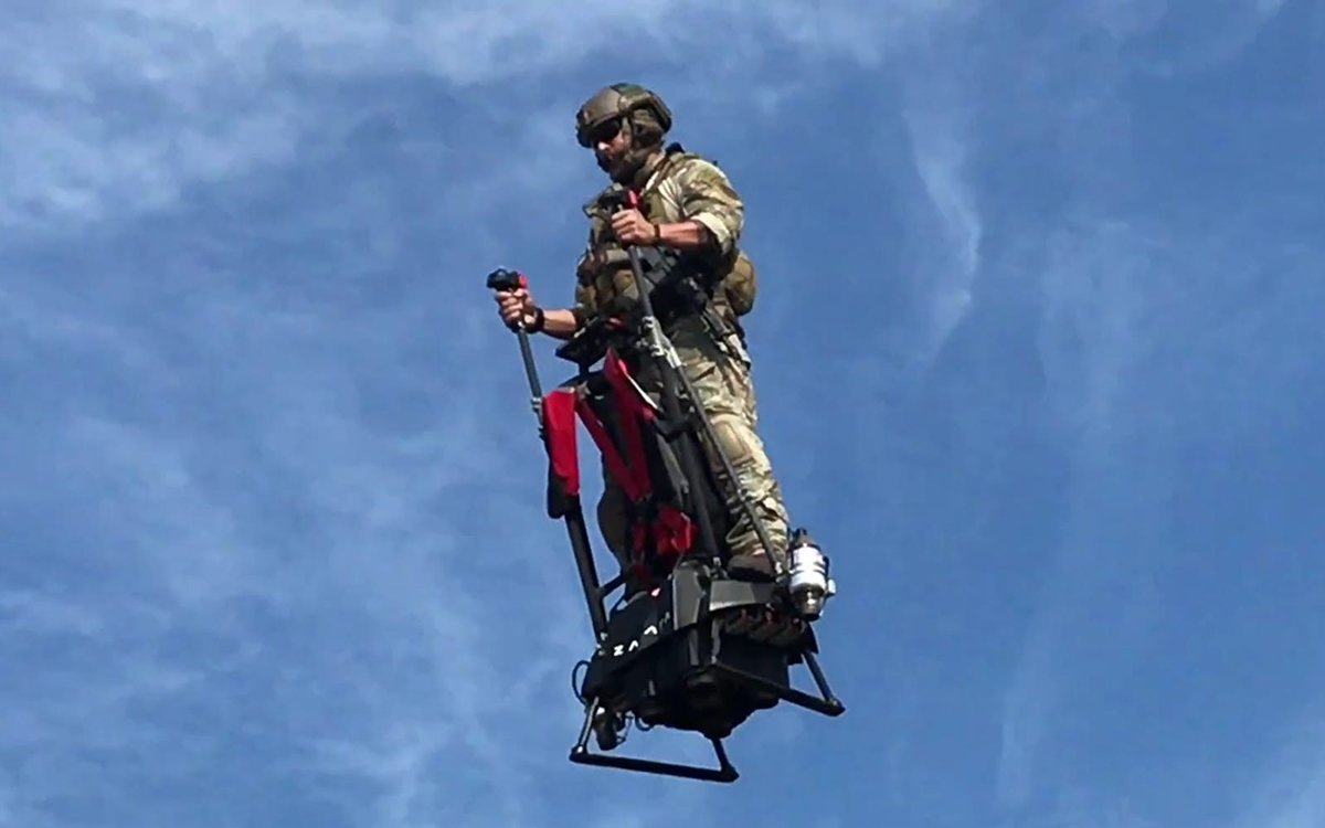 Anyway Here's a Flying Segway