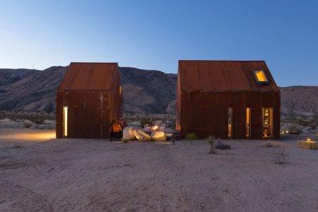 Joshua Tree's Prettiest Rental Has an Open-Air Stargazing Bedroom
