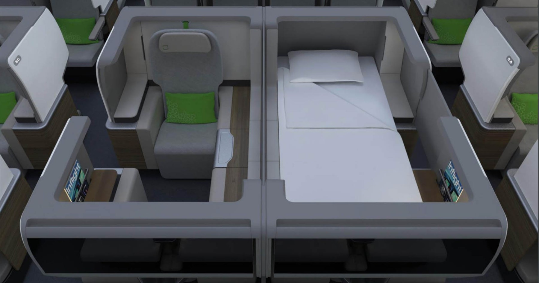 Coming Soon: Lay-Flat Seats in Economy. Aw Yiss.