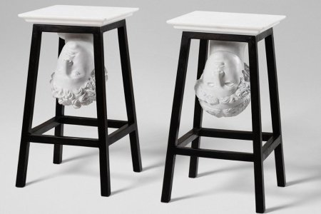 Do Your Barstools Have Roman Busts Underneath 'Em?