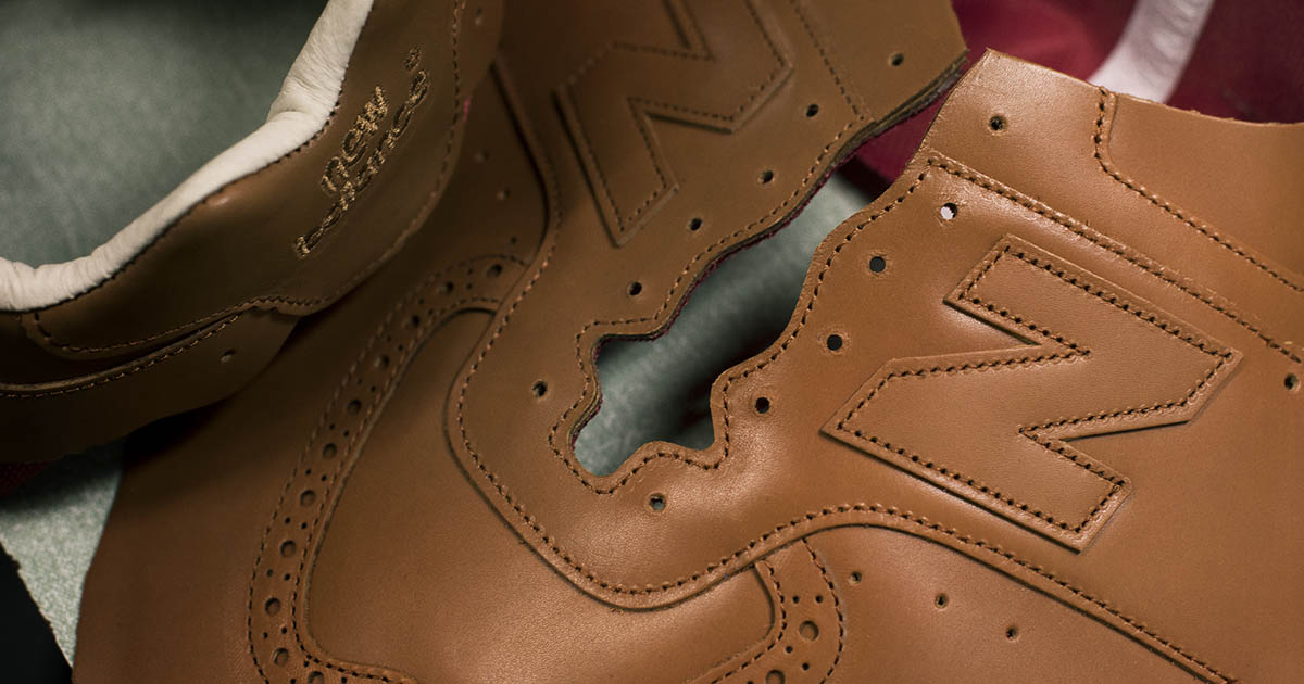 New Balance and Grenson Sneaker Collaboration InsideHook