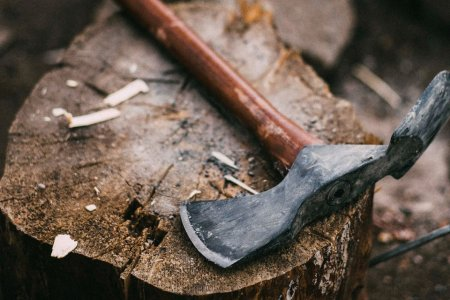 Take 30% Off a Carbon Steel Model of the Landmark Pulaski Axe