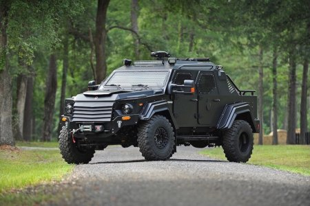 You're Looking at the Civilian Edition of an Armored Tactical Vehicle