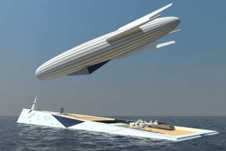 In Which the Superyacht Comes With Its Own Airship