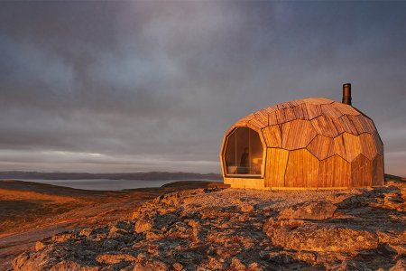 You Can Find Us in One of These Norwegian Turtle-Shell Hiking Shelters