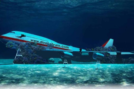 Bahrain's Creating an Underwater Theme Park from a Sunken 747