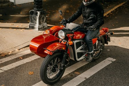 Grab a Friend. Ural Just Debuted an All-Electric Sidecar Motorcycle.