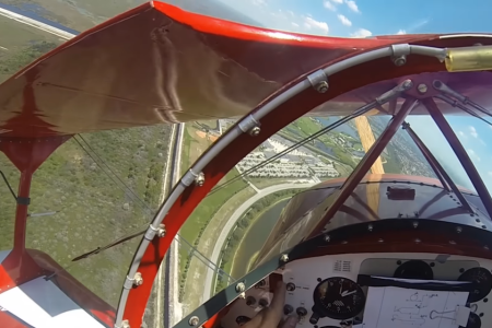 Watch a Pilot Lose His Engine, Free Fall, Somehow Survive