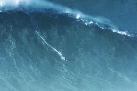 Watch Lunatic/Legend Rodrigo Koxa Ride a Record-Breaking 80-Foot Wave