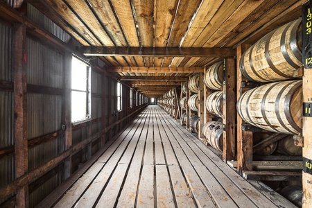 9,000 Barrels of Whiskey Just Crashed to the Ground at a Kentucky Distillery