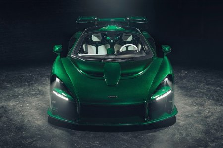 The New Goblin Green McLaren Does a Quarter Mile in 10 Seconds