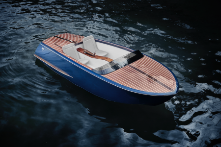 This Pedal Boat Comes With Wood Decks, an America's Cup Pedigree
