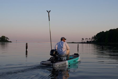 Can Your SUP Board Turn Into a 16-MPH Fishing Boat?