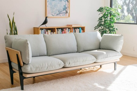 Floyd's First Couch Arrives Flat-Packed, Sets Up in 5 Minutes