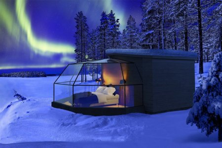 Sleep Under the Northern Lights in These Cozy Finnish Igloos