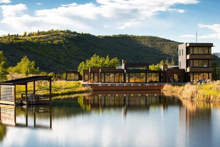 For Sale: A Modish Colorado Mansion on 70 Heavenly Acres