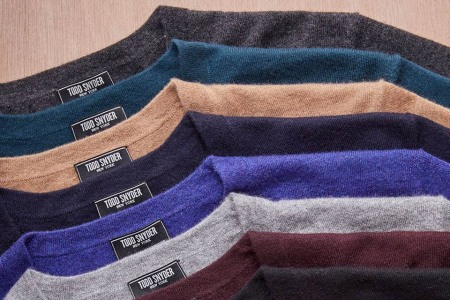 Like Cashmere? Todd Snyder Just Dropped a Whole Shop of It.
