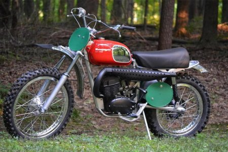 G'head, Blow Your Bonus on Dennis Hopper's 1970 Husqvarna Motorcycle