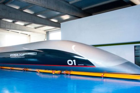 The First Actual, Physical Hyperloop Prototype Has Arrived