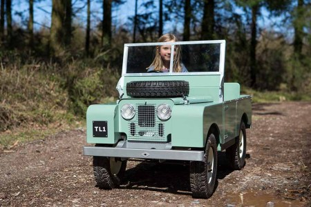 You Can Now Buy a 1948 Series 1 Land Rover … for Your Toddler