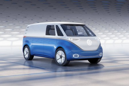 Step Aside, UPS: VW Just Announced an All-Electric Cargo Van