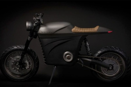 3D-Printed, All-Electric Motorcycle Can Crank Up to 120 MPH