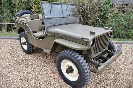 Steve McQueen's WWII-Issue Willys Jeep Is Up for Auction