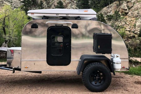This Teardrop Trailer Is a Bunk-Bed Palace