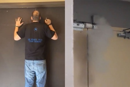 Watch This Guy Open a Locked Door by Blowing Vape Smoke