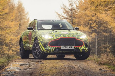 Here's the First Footage of Aston Martin's SUV … on a Rally Course