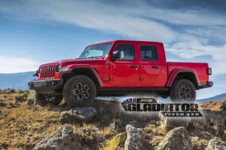 Photos of the 2020 Jeep Gladiator Pickup Leaked and Someone's Getting Fired