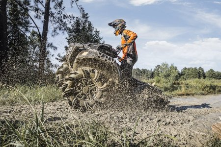 You'll Get Dirty Just Looking at Polaris's New Mud-Specific ATV