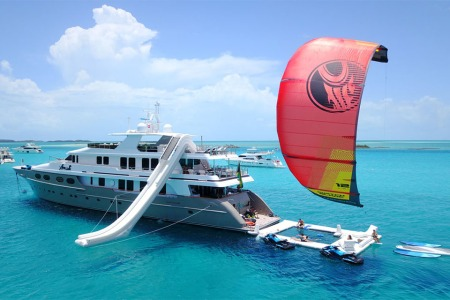 This Bahamas Adventure Yacht Will Ruin Watersports for You Forever