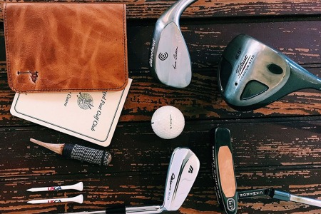 This Shop Hand-Stitches Ridiculously Handsome Horween Leather Golf Goods