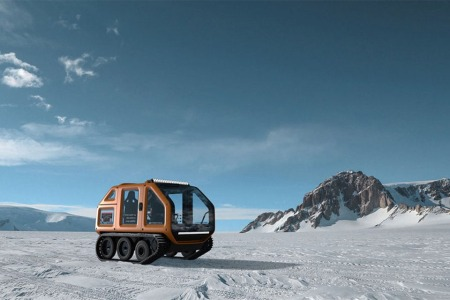 A Monaco Racing Team Just Built an All-Electric Antarctic Rover