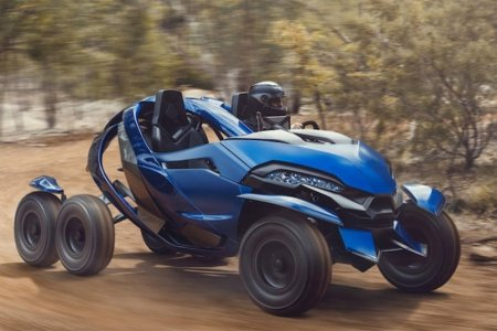 We're Pretty Sure This Hydraulic ATV Is Visiting Us from the Future