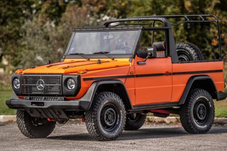 On This Up-For-Grabs '87 Mercedes 240GD, Orange Is the New Black